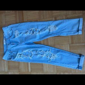 Garage distressed jeans